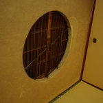 割烹 松楽 - 丸窓
