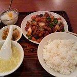 miyamahanten - 鶏肉とピーマンの辛みそ炒め