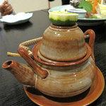 麹屋 - 松茸土瓶蒸1,000円