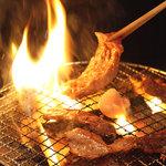 七厘や - 炭火で焼くと旨さ倍増!  見た目も美味しそう・・♪食欲倍増!!