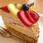 ベリーズ - お友達が食べたケーキその2♡