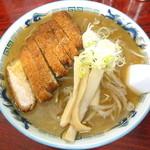 味の中一 - カツラーメン味噌_950円