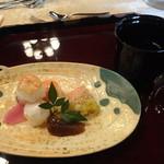 太閤園 別館 - 手毬寿司 赤出汁
