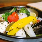 コンシールカフェ・サクラガオカ - 白身魚と旬野菜のアクアパッツァ