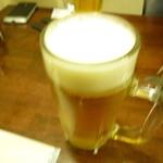 大衆酒場 かぶら屋  - 生ビール