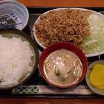 勝ちゃん - 生姜焼定食