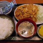 勝ちゃん - 豚キムチ定食