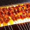 故郷羊肉串店 - 料理写真:テーブルで焼く、串焼料理はクミンと唐辛子、ニンニクペーストなどのスパイスハーモニーがたまりません!