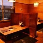 黒毛和牛焼肉と本格もつ鍋 山樹 - ◆お座敷貸切は最大15名様までOK!各種ご宴会にピッタリです!!