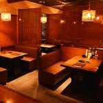 黒毛和牛焼肉と本格もつ鍋 山樹 - ◆お洒落で上質な雰囲気で、ゆったりとお楽しみください♪