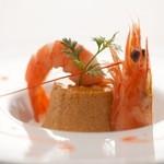 フェルミエール - 料理写真:ご自慢オードブル『ウニのムース&天使のエビ添え』