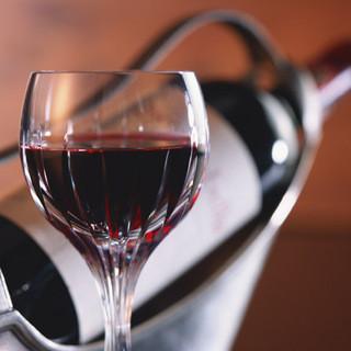 リーズナブルなお値段で美味しいワインをご用意しております