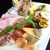 季節野菜とパルマ産プロショット、パルミジャーノ・レッジャーノのサラダ仕立て