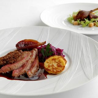 アルザスが誇る美食文化に育まれた極上のフランス料理を