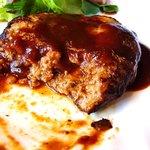 AiAi - レストラン AiAi @佐野・田沼 ランチ ハンバーグ 肉汁