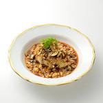 香港茶樓 - 蒸し鶏の四川ソース