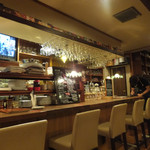 Cafe Lembeek - カウンター側