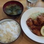 キッチンメル - 鶏の唐揚げ定食