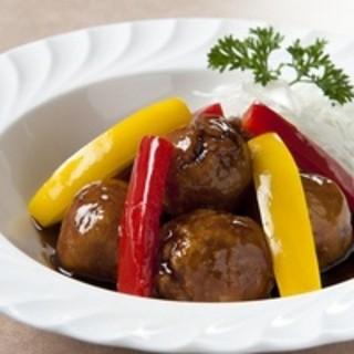 中国料理 恵莉華 - 料理写真: 【恵莉華】オリジナルの逸品『ライチ詰め黒酢の酢豚』