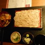 徳樹庵 - ミニ天丼・麺御膳¥1039