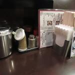 博多麺房 赤のれん - 調味料