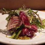 トラットリア チーボ - 有機サラダ