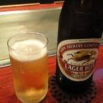 22717777 - 瓶ビールがなんと!¥390