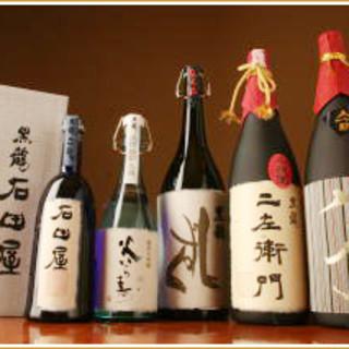 上質な日本酒も多数取り揃え、皆様をお待ちしております。