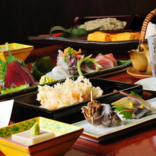 お客様との会食には、コース料理がおすすめです。
