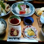 お食事処日本海 - これで¥1000は安いです (ノ゚ο゚)ノ