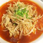 梅包 - ランチのおすすめ豆腐麺、麻辣豆腐麺.