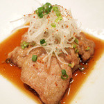 梅包 - 豚ヒレ肉の油淋ソース