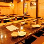 マルカイ札幌水産 - 個室や掘りごたつのあるお座敷席で宴会!
