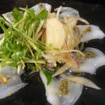 22721298 - 鮮魚のカルパチョ〜アンチョビミソ〜720円
