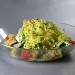 香屏風 - 料理写真:半熟卵のシーザーサラダ