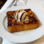 カフェクラウディア - ハニートースト、さくさくのふわふわです