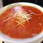 ラーメン松野屋 - タンタン麺白醤油