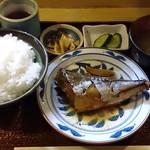 魚玉 - 魚玉 @神保町 サバ味噌煮定食 700円