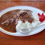 ダチョウ王国 軽食コーナー - ダチョウ肉カレー 700円 (''b