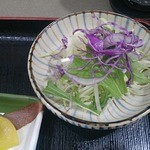 とんかつ和ちゃん - セットのサラダ2013/12
