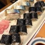 寿司・おでん 瓢六 - 本日のオススメ、〆サバ寿司