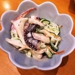 寿司・おでん 瓢六 - お通し