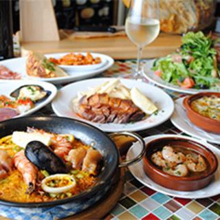 本格スペイン料理