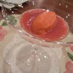 御影 ジュエンヌ - 赤ピーマンのムース トマトソース