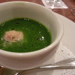 御影 ジュエンヌ - 菜の花とハマグリのスープ仕立て