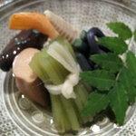 2273079 - 各種山菜の炊き合わせ