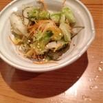 居酒屋ニュー大文字 - 白菜の浅漬け