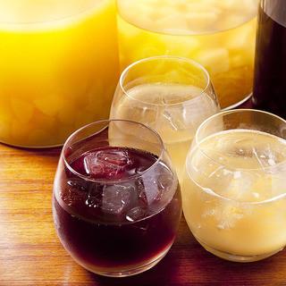 季節ごとに変わるオリジナルサングリアや自家製リモンチェッロ♪