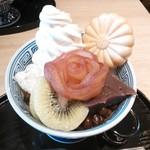 Kikumaru - あんみつベルサイユのばら850円