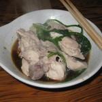 海臨丸 - 鍋の鶏肉も美味しい!